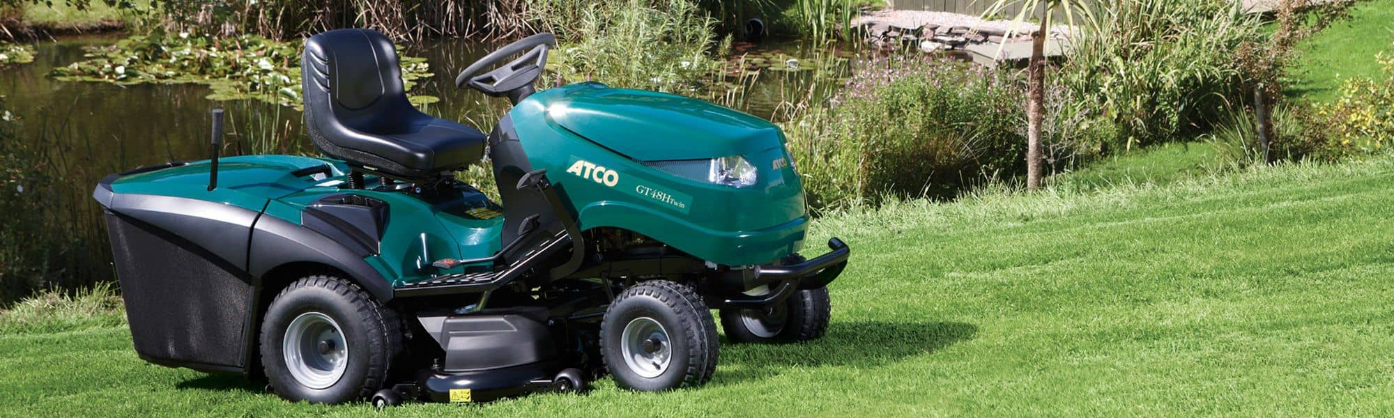 Atco ride on lawnmower