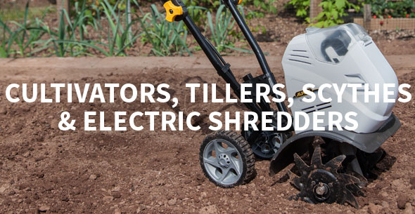 Cultivators, Tillers & Scythes